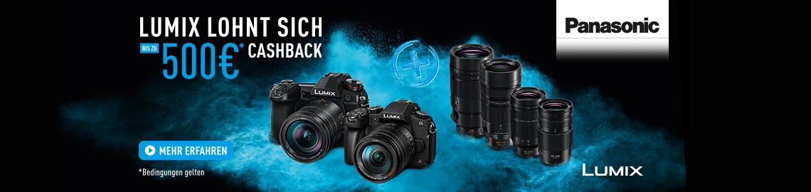 LUMIX CASH BACK April 2019