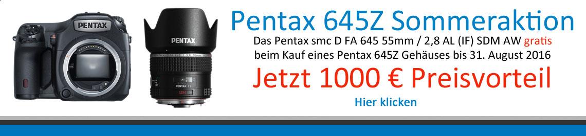 Pentax 645 Z Aktion