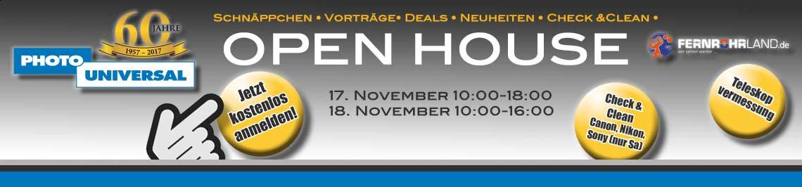 OPEN HOUSE November 2017