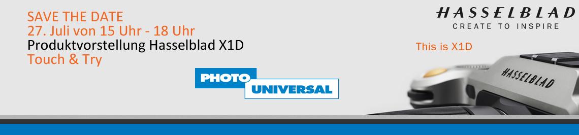 Hasselblad X1D Vorstellung