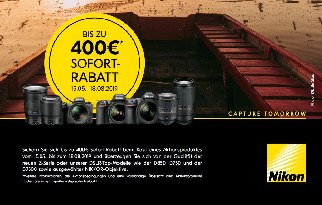Nikon Sofort Rabatt 2019