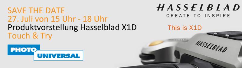 Hasselblad X1D Produktvorstellung
