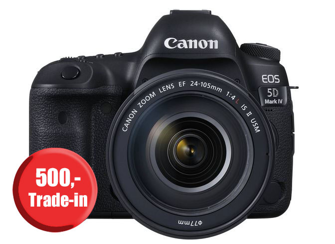 Canon EOS 5D MK IV Trade-in bei PHOTO UNIVERSAL