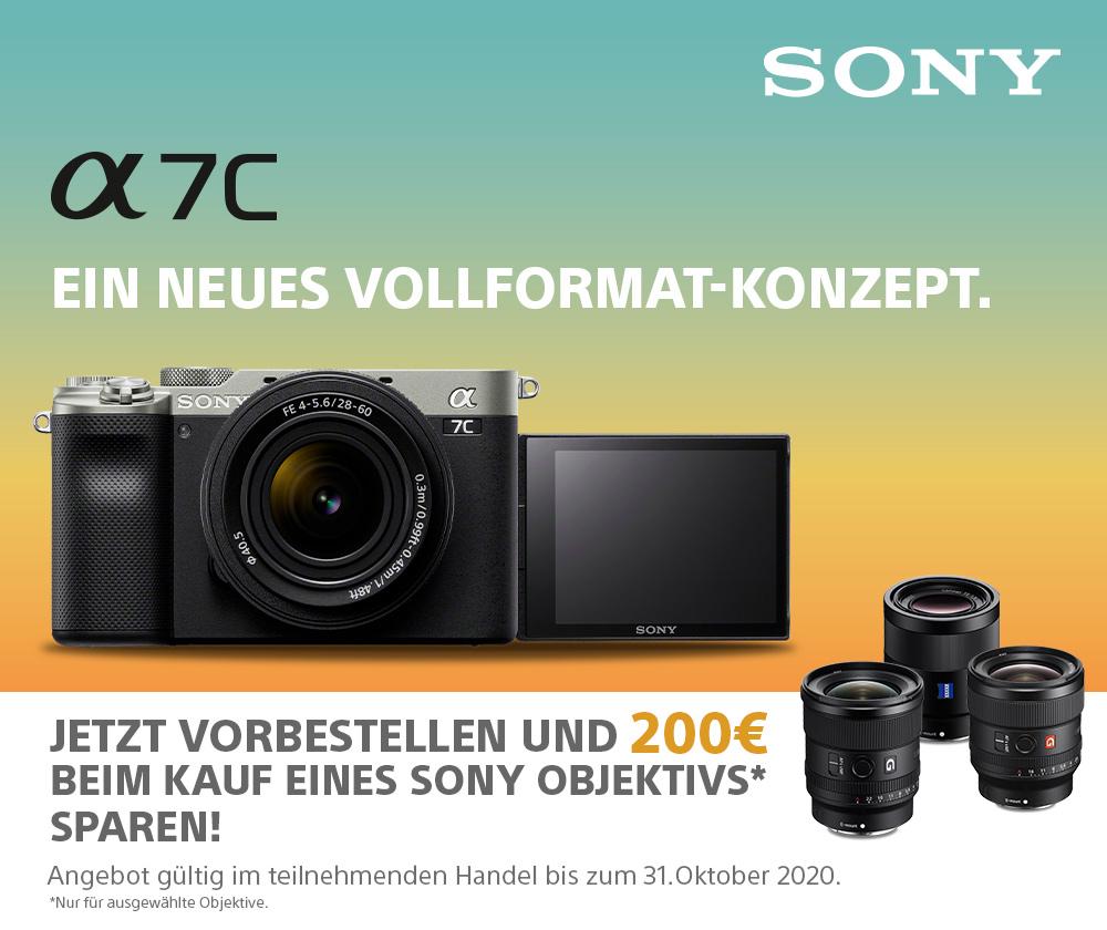 Sony Alpha 7C preorder