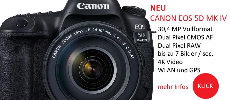 Die neue Canon EOS 5D MK IV