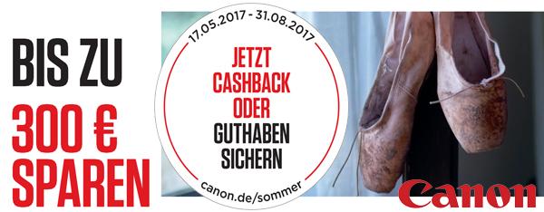 Canon Sommeraktion 2017