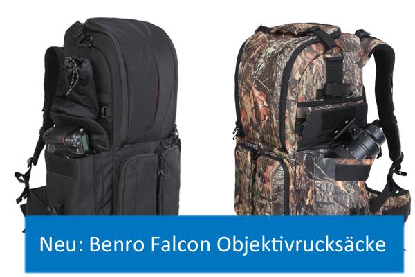 Benro Falcon Objektivrucksäcke