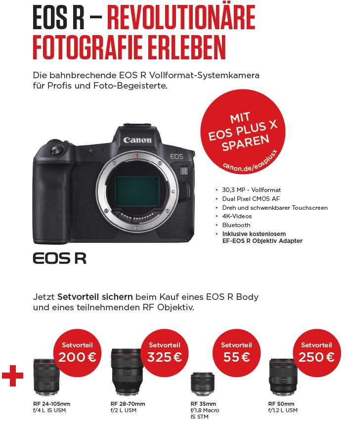 Canon Eos plus X bei Photo Universal