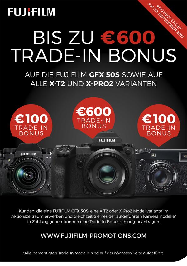 Fuji Trade-In Bonus