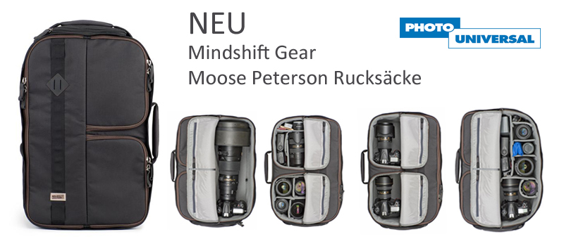 Moose Peterson Rucksäcke