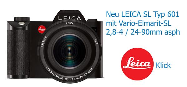 Neu: LEICA SL