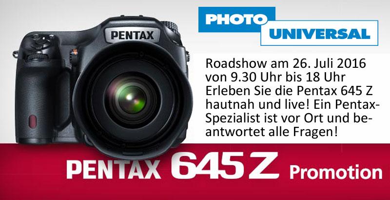 Pentax 654 Z Roadshow am 26.07.2016