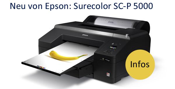 Epson Surecolor SC-P 5000