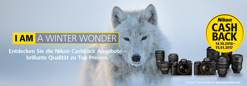 Nikon Winter-Cashback