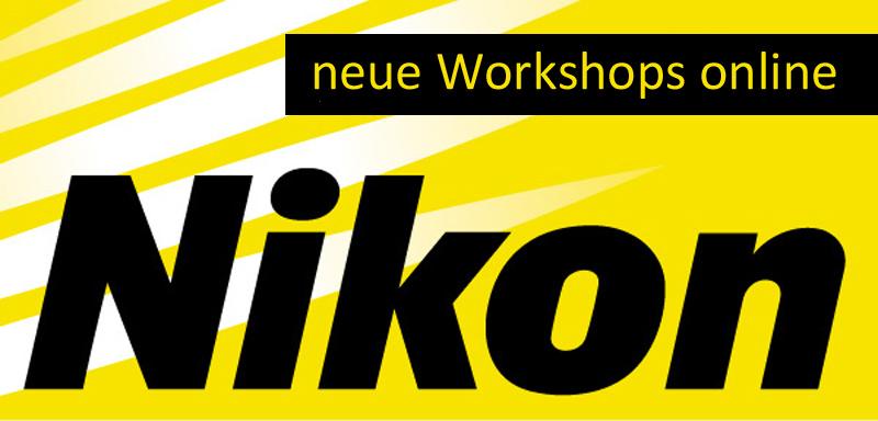 Neue Nikon Workshops online