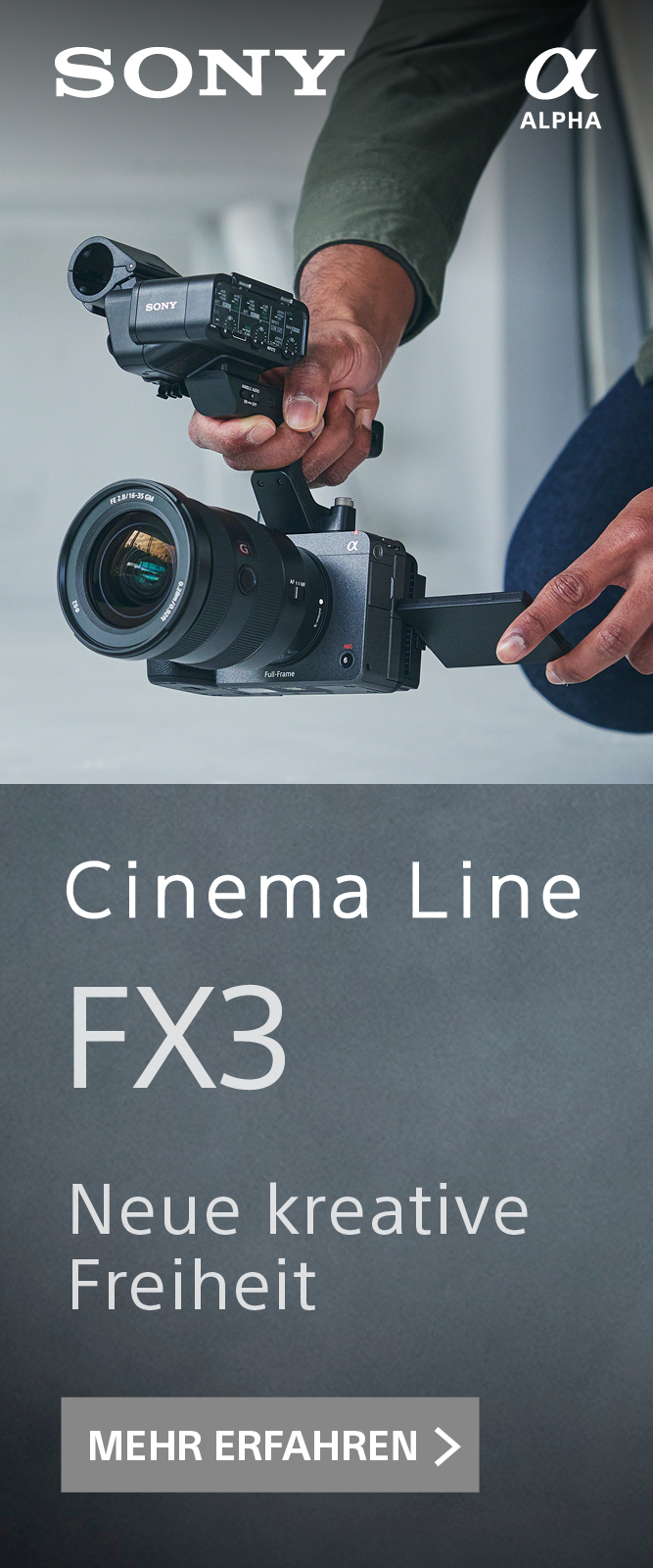 Sony Alpha FX-3