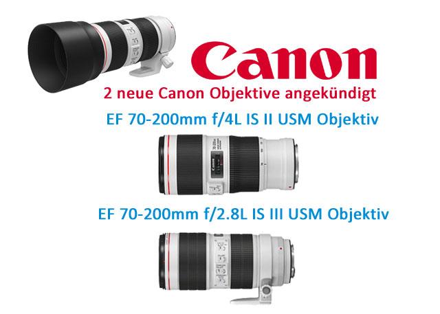CAnon 70-200 neu