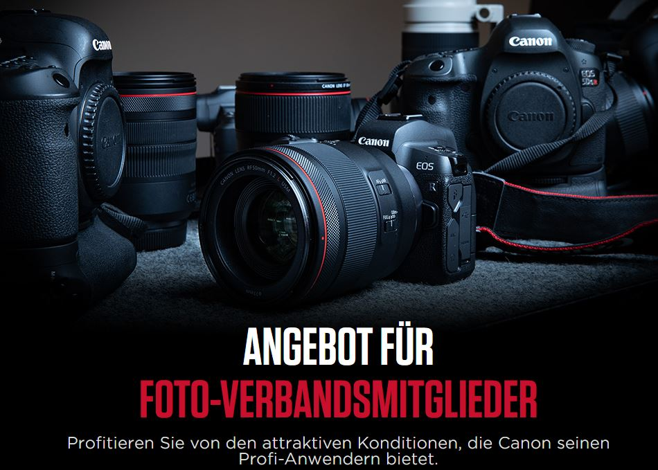 Canon Profi Angebot