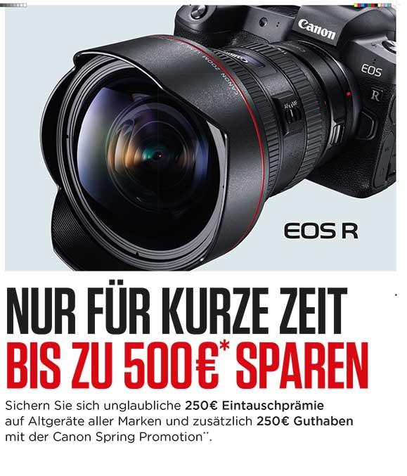 Canon EOS R trade-in verlängert