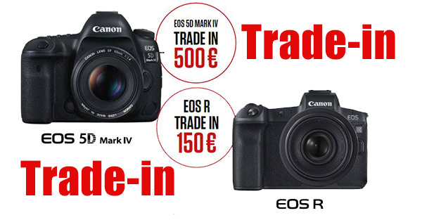 CAnon Trade-in bei Photo Universal