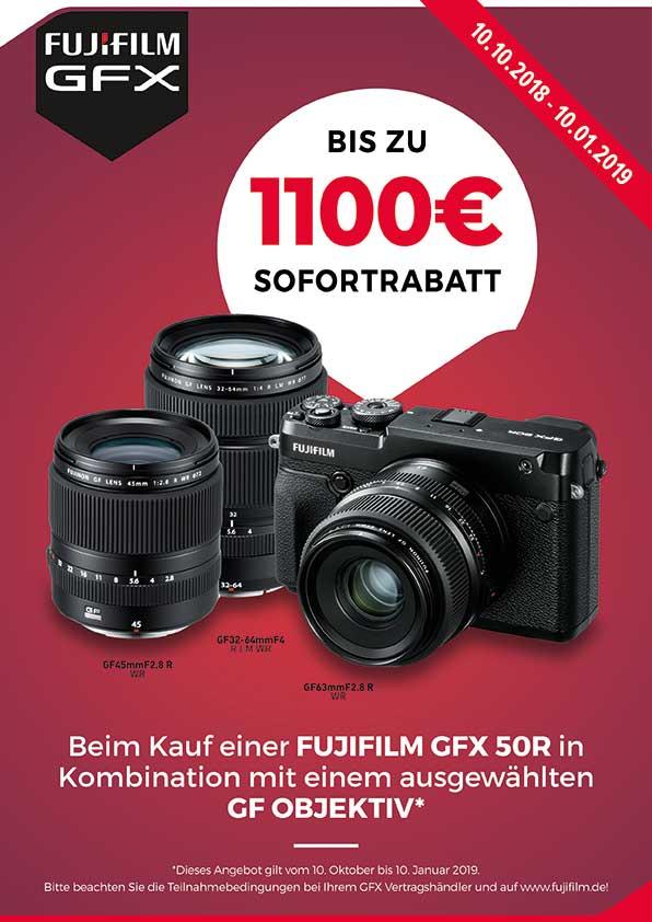 GFX 50r Sofortrabatt bei Photo Universal Stuttgart