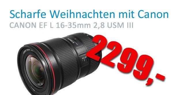 Canon EF L 16-35 2,8 III USM