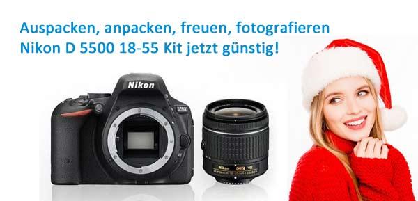 Nikon D 5500 Kit