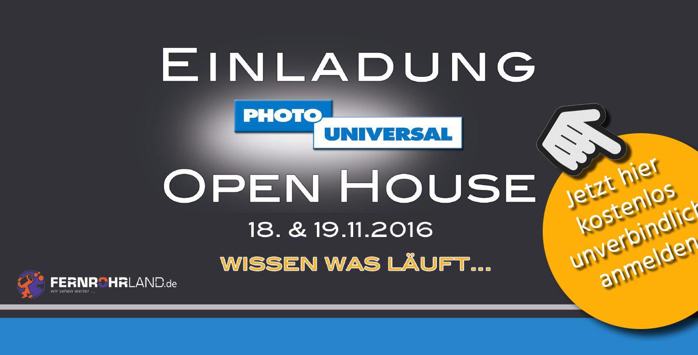 OPEN HOUSE 2016