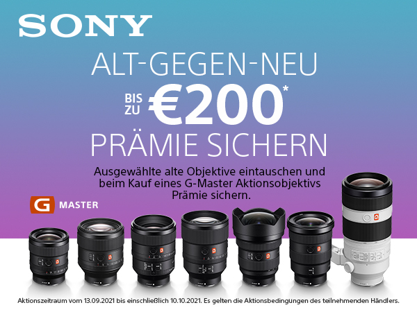 SOny Trade-in GMaster