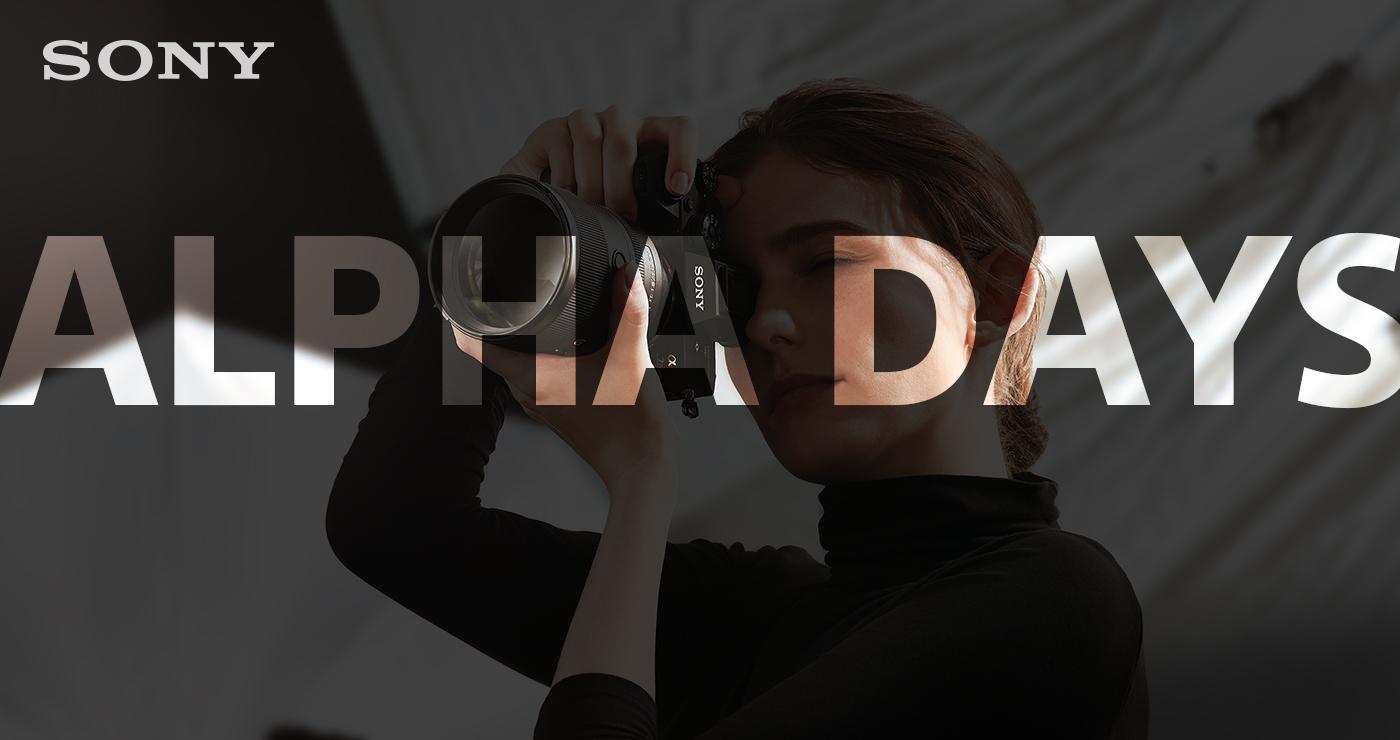 zur Anmeldung Sony Alpha Days