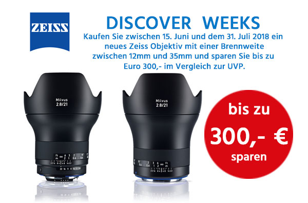 Zeiss Discover Weeks